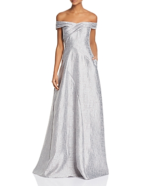 Adian Mattox Off-the-Shoulder Gown - 100% Exclusive