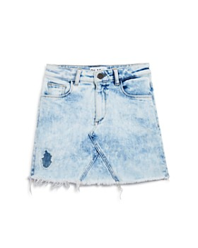 DL1961 - Girls' Acid-Washed Denim Skirt - Big Kid