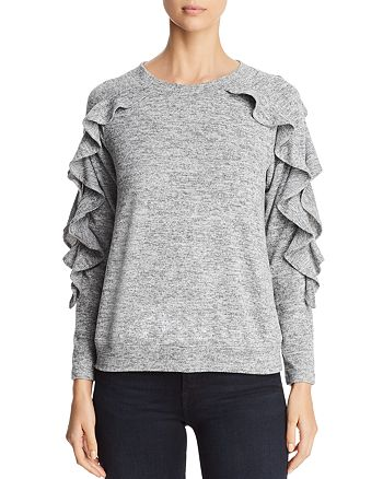 Avec - Ruffle Sleeve Sweater