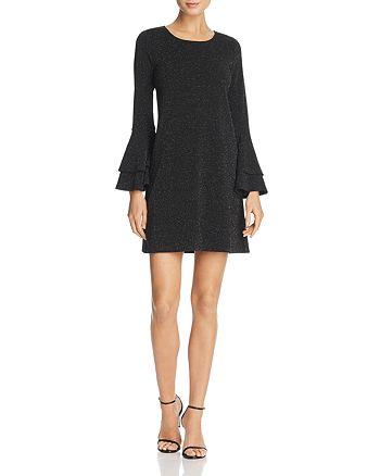 AQUA - Long Bell Sleeve Dress - 100% Exclusive
