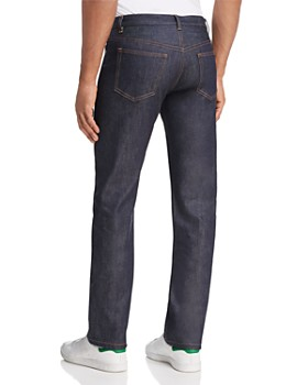 A.P.C. - New Standard Straight Fit Jeans in Dark Blue