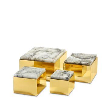 ANNA new york by RabLabs - Metal Scatola Box, Medium