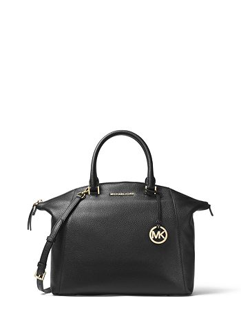 9efcc9ef40aa MICHAEL Michael Kors - Riley Large Leather Satchel