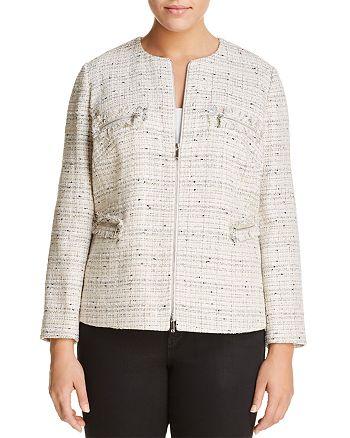 Lafayette 148 New York Plus - Emelyn Tweed Jacket
