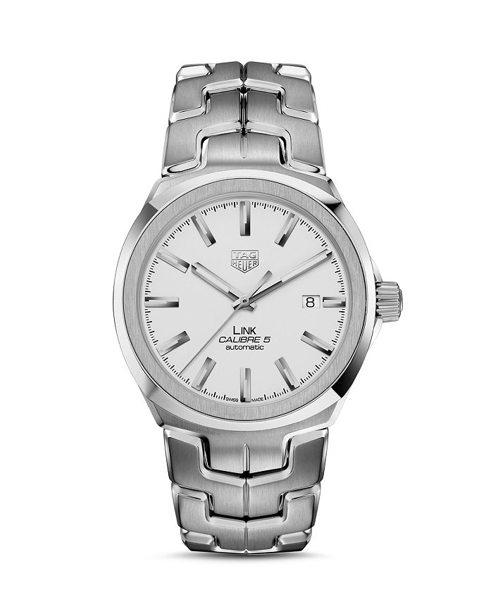 TAG Heuer - Link Calibre 5 Watch, 41mm
