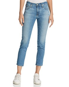 AG - Prima Crop Jeans in 12 Years Canyon Blue - 100% Exclusive