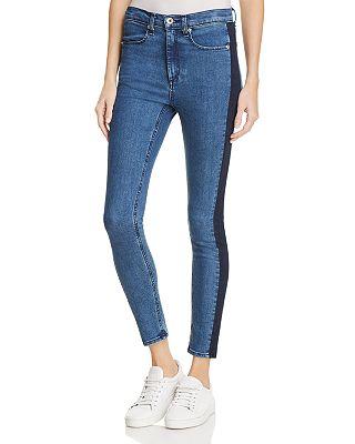 rag & bone/JEAN Mazie Jeans in Igloo/Blue