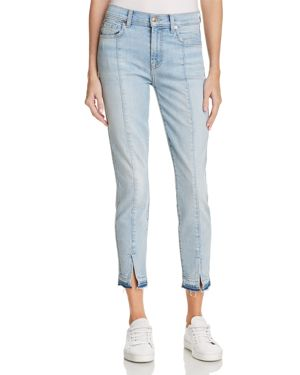 7 For All Mankind Ankle Skinny Jeans in Ocean Breeze - 100% Exclusive 2814049