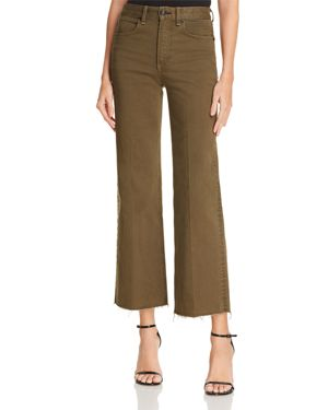 RAG & BONE/JEAN JUSTINE ANKLE TROUSER JEANS IN ARMY - 100% EXCLUSIVE