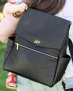 Freshly Picked - Faux-Leather Diaper Bag