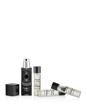 KILIAN Straight To Heaven, White Cristal Travel Spray Set 4 X 0.25 Oz/ 7.5 Ml Eau De Parfum Refillable Trav