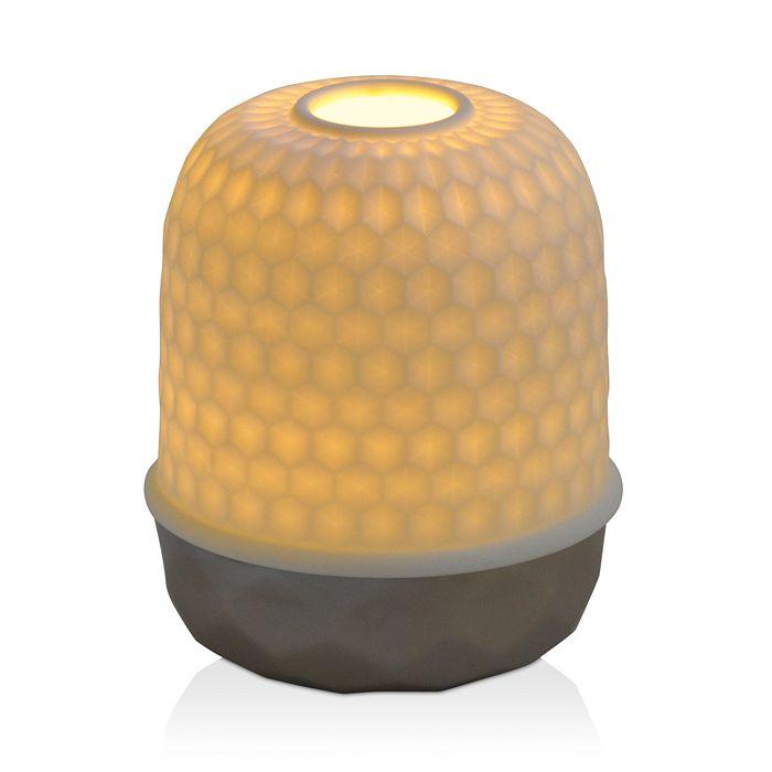 Bernardaud - Lampion LED Silver Diamond Light