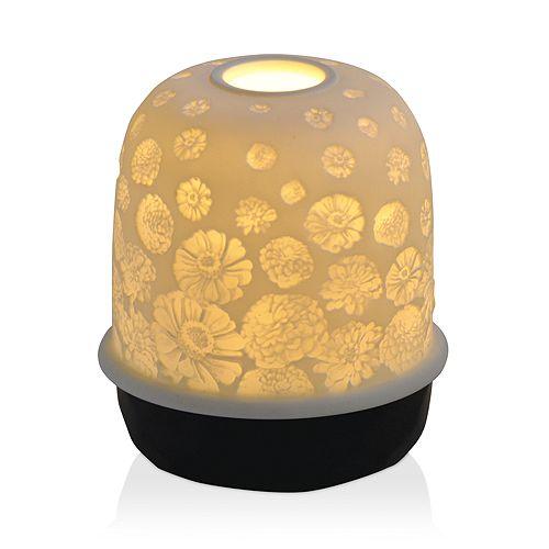 Bernardaud - Lampias LED Black Zinnias Light