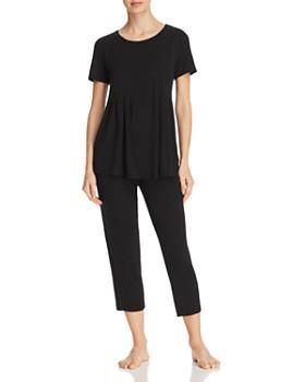 Donna Karan - Basics Short-Sleeve Top   Capri Pants ... 6dd65b9f1