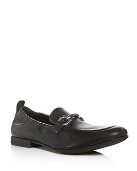 Salvatore Ferragamo - Men's Celso Leather Apron Toe Loafers