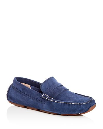 Cole Haan - Men's Kelson Nubuck Leather Penny Loafer Drivers