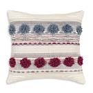 "Sparrow & Wren Pom Pom Decorative Pillow, 20"" x 20"" - 100% Exclusive"