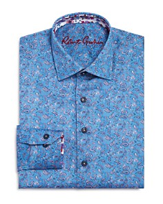 Robert Graham Boys' Paisley Dress Shirt - Big Kid - Bloomingdale's_0