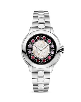 Fendi - Fendi IShine Rotating Gemstones Watch, 33mm
