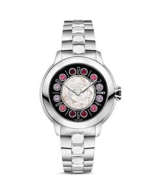 Fendi IShine Rotating Gemstones Watch, 33mm-Jewelry & Accessories