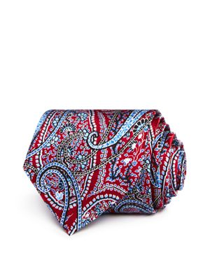 The Men's Store at Bloomingdale's Large Paisley Classic Tie - 100% Exclusive thumbnail