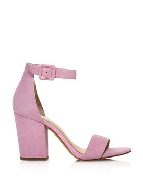 Botkier - Women's Shana Suede Block Heel Sandals - 100% Exclusive