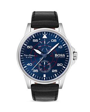 Hugo Boss Aviator Watch, 44mm