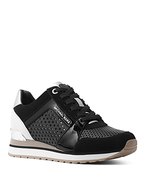 Michael Michael Kors Women's Billie Mixed-Media Sneakers