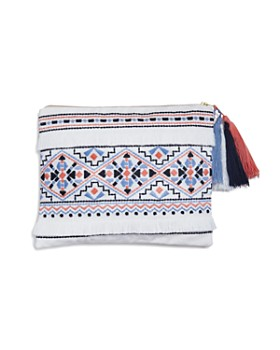Sky - Azteca Embroidered Pouch - 100% Exclusive