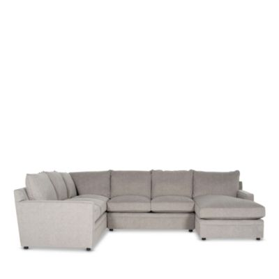 Bloomingdale S Riley 4 Piece Sectional Right Facing Chaise 100 Exclusive