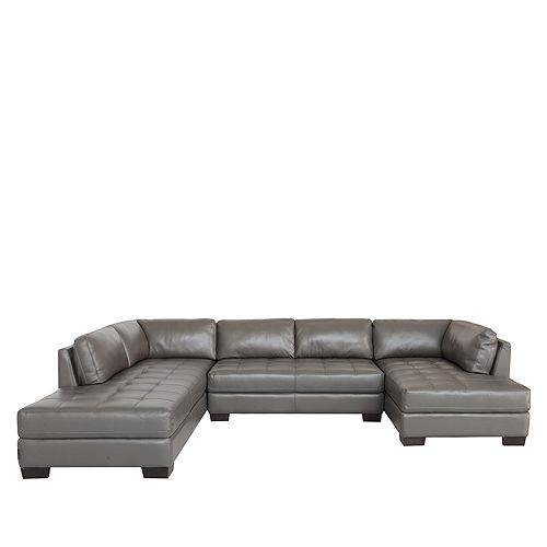 Chateau D'ax - Becker 3-Piece Sectional - Left Facing Long Chaise