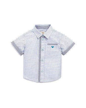 Armani - Boys' Stripes & Checks Shirt - Baby
