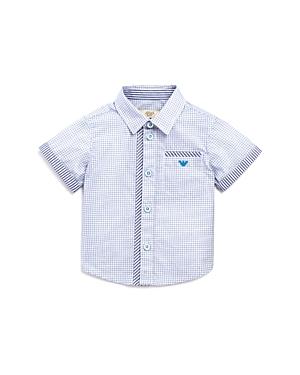 Armani Junior Boys' Stripes & Checks Shirt - Baby