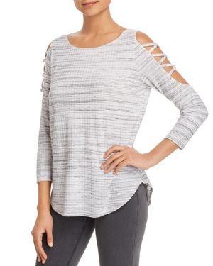 STATUS BY CHENAULT STRAPPY SHOULDER TOP