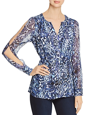 Elie Tahari Lilo Split-Sleeve Blouse - 100% Exclusive