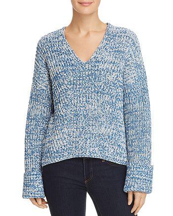 Kenneth Cole - V-Neck Marled Sweater