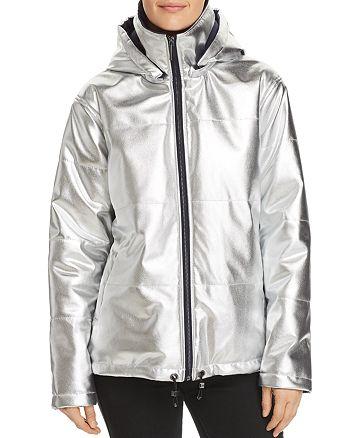 Kenneth Cole - Metallic Puffer Jacket