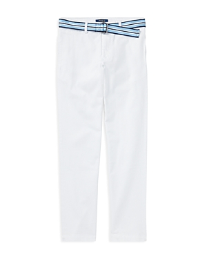Ralph Lauren Childrenswear Boys Stretch Skinny Chinos with Belt  Big Kid