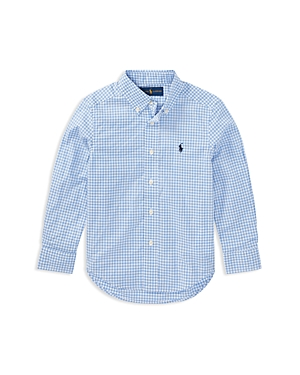 Polo Ralph Lauren Boys Stretch Cotton Gingham Shirt  Little Kid