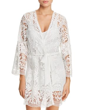 Flora Nikrooz Juliette Lace Cover-Up Robe