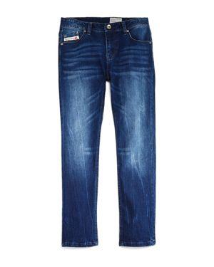 Diesel Boys' Faded Dark-Wash Skinny Jeans - Big Kid thumbnail