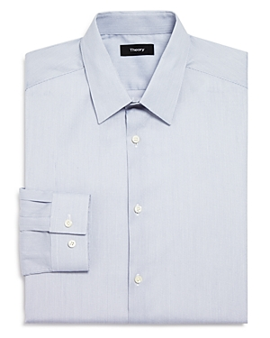 Theory Micro Grid Slim Fit Dress Shirt-Men
