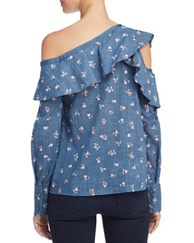 PAIGE - Marlow Reconstructed Chambray Shirt