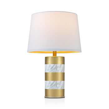 cupcakes and cashmere - Marble and Gold Lamp