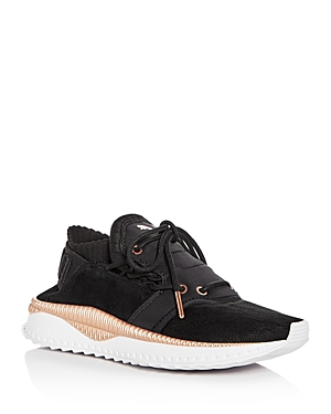 Puma Women's Tsugi Mixed Media Lace Up Sneakers