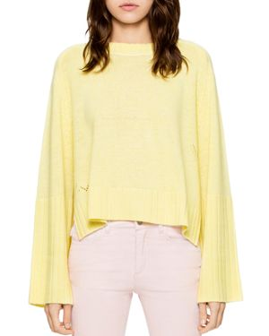 Zadig & Voltaire Lea Ribbed Cashmere Sweater