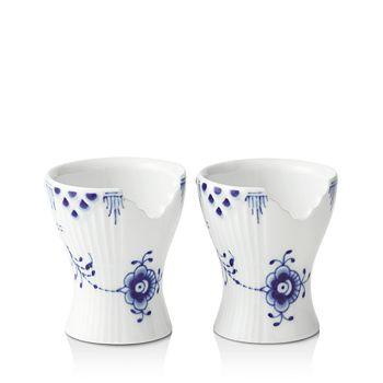 Royal Copenhagen - Blue Elements Egg Cup, Set of 2