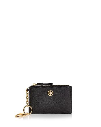 official photos d90eb e6285 Tory Burch Robinson Leather Card Case | Bloomingdale's