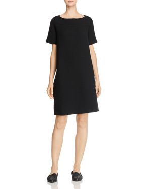 Eileen Fisher Textured Short-Sleeve Dress 2832757
