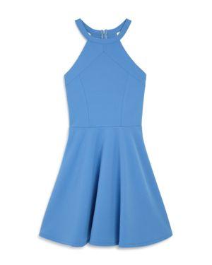 Sally Miller Girls' Textured Knit Dress - Big Kid